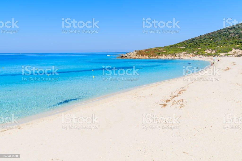 Fantastisk Bodri Sandstrand Nara Llle Rousse Med Azurbla Havet Vatten Korsika Frankrike Foton Och Fler Bilder Pa Balagne Istock