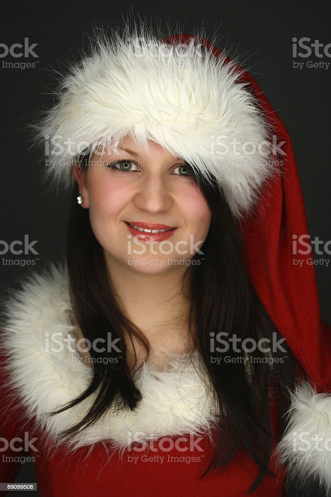 Una Santa chica foto de stock libre de derechos