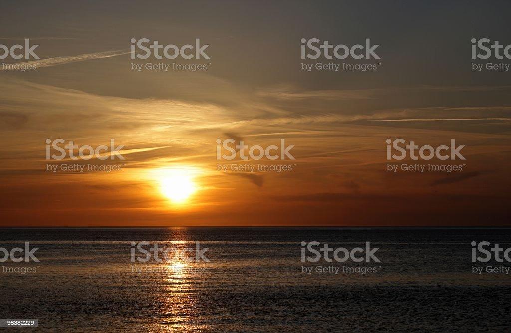 Stunning sunset royalty-free stock photo