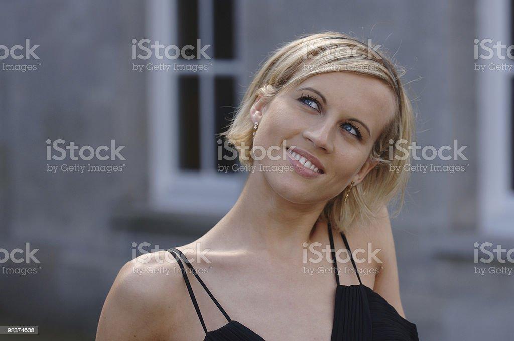 Stunning Supermodel royalty-free stock photo