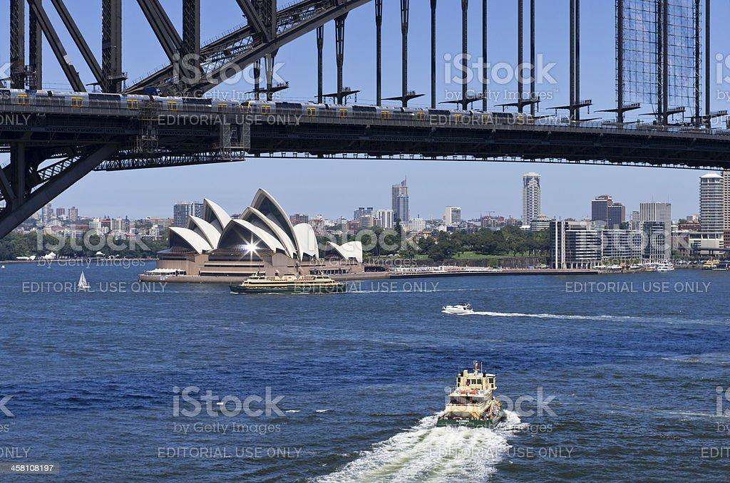 Stunning Sydney Harbour royalty-free stock photo