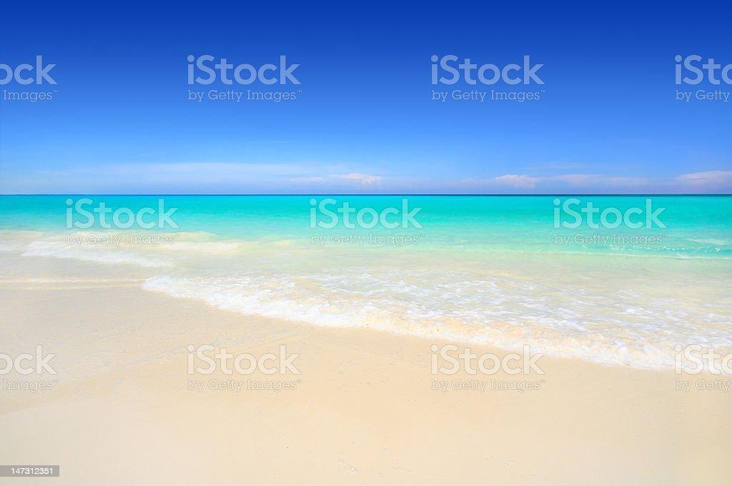 Stunning tropical beach royalty-free stock photo