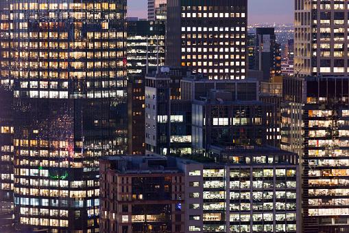 Prachtig Uitzicht Over De Stad Gebouwen Stockfoto en meer beelden van Architectuur
