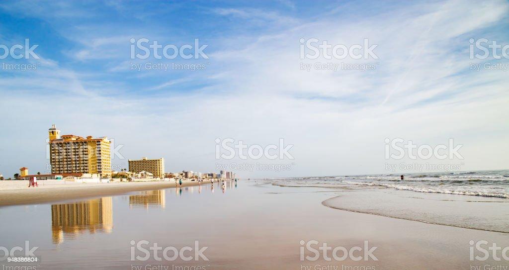 Stunning View Of Daytona Beach stock photo