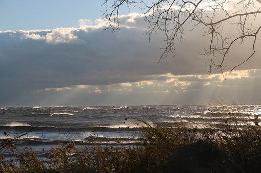 854222674 istock photo Stunning views of Lake Erie: Port Stanley Ontario Canada: 1047549294