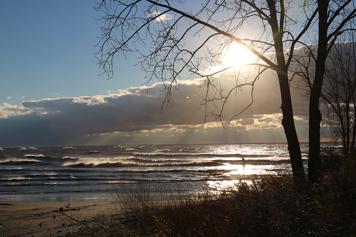 854222674 istock photo Stunning views of Lake Erie: Port Stanley Ontario Canada: 1047549300