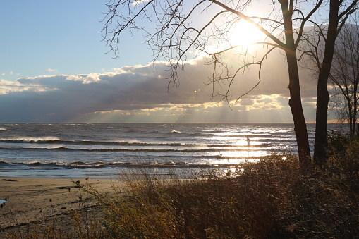 854222674 istock photo Stunning views of Lake Erie: Port Stanley Ontario Canada: 1047549370