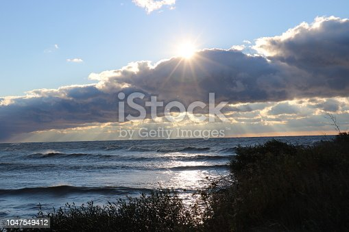 854222674istockphoto Stunning views of Lake Erie: Port Stanley Ontario Canada: 1047549412