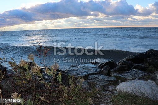 854222674istockphoto Stunning views of Lake Erie: Port Stanley Ontario Canada: 1047549434