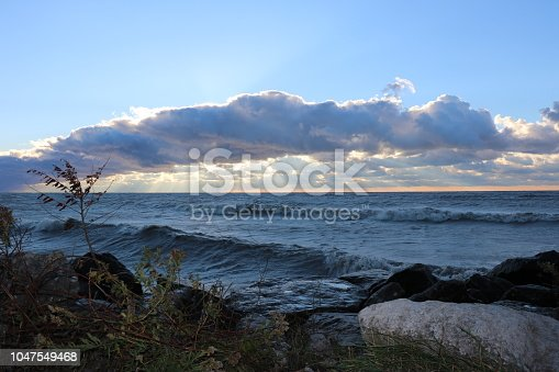 854222674istockphoto Stunning views of Lake Erie: Port Stanley Ontario Canada: 1047549468
