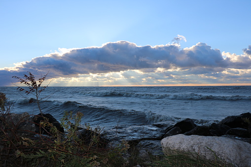 854222674 istock photo Stunning views of Lake Erie: Port Stanley Ontario Canada: 1047549468