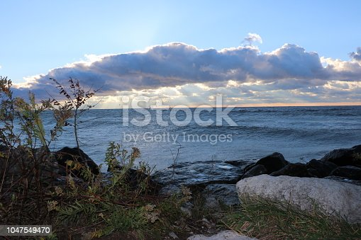 854222674istockphoto Stunning views of Lake Erie: Port Stanley Ontario Canada: 1047549470