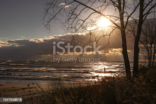 854222674istockphoto Stunning views of Lake Erie: Port Stanley Ontario Canada: 1047549518