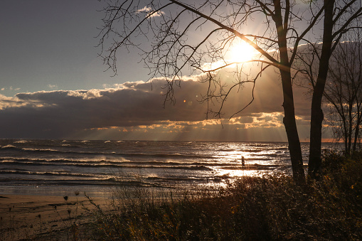 854222674 istock photo Stunning views of Lake Erie: Port Stanley Ontario Canada: 1047549518