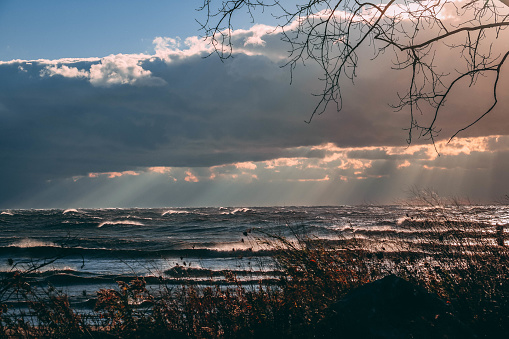 854222674 istock photo Stunning views of Lake Erie: Port Stanley Ontario Canada: 1047549534