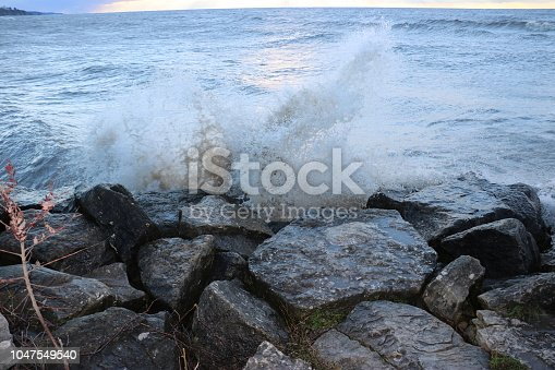 854222674istockphoto Stunning views of Lake Erie: Port Stanley Ontario Canada: 1047549540