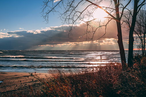 854222674 istock photo Stunning views of Lake Erie: Port Stanley Ontario Canada: 1047549576