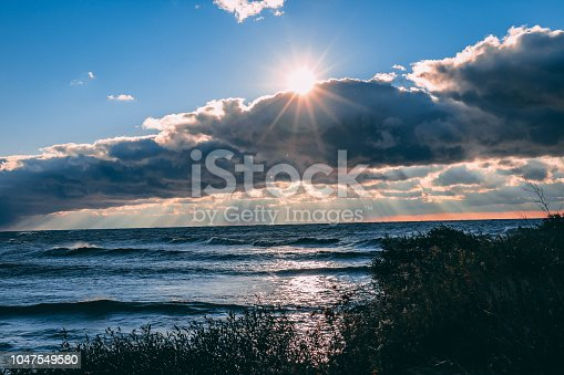 854222674istockphoto Stunning views of Lake Erie: Port Stanley Ontario Canada: 1047549580