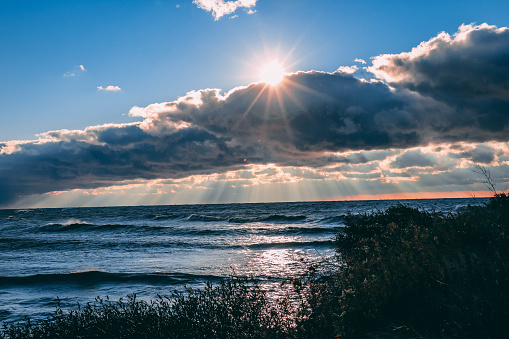 854222674 istock photo Stunning views of Lake Erie: Port Stanley Ontario Canada: 1047549580