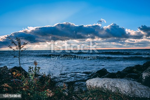 854222674istockphoto Stunning views of Lake Erie: Port Stanley Ontario Canada: 1047549646