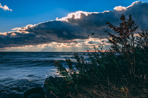 854222674 istock photo Stunning views of Lake Erie: Port Stanley Ontario Canada: 1047549656