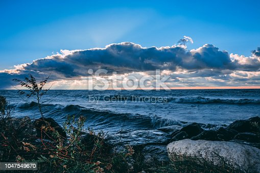 854222674istockphoto Stunning views of Lake Erie: Port Stanley Ontario Canada: 1047549670