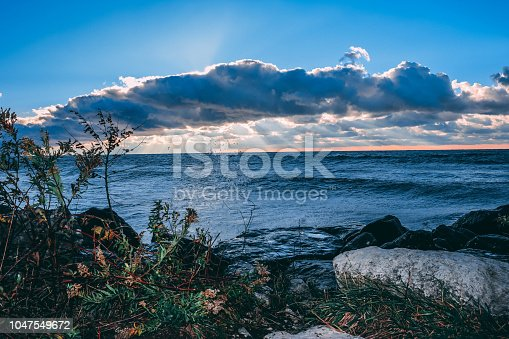 854222674istockphoto Stunning views of Lake Erie: Port Stanley Ontario Canada: 1047549672