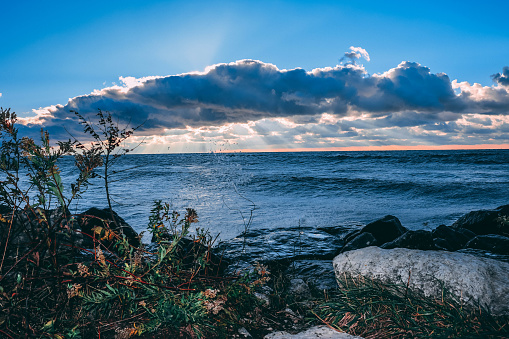 854222674 istock photo Stunning views of Lake Erie: Port Stanley Ontario Canada: 1047549672