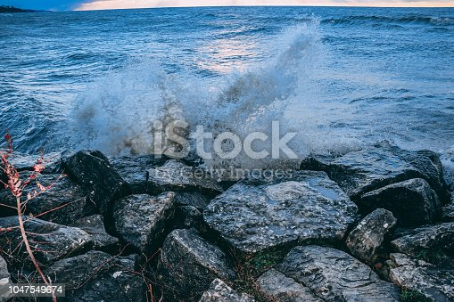854222674istockphoto Stunning views of Lake Erie: Port Stanley Ontario Canada: 1047549674