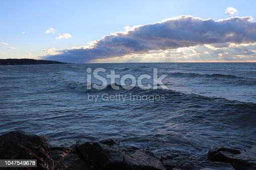 854222674istockphoto Stunning views of Lake Erie: Port Stanley Ontario Canada: 1047549678