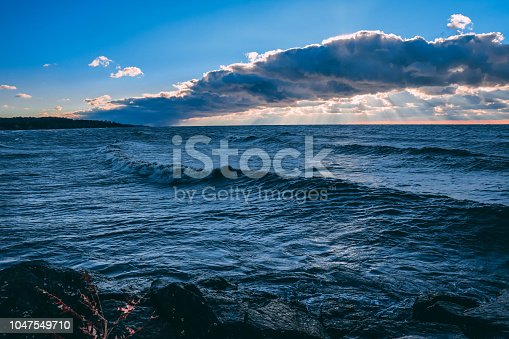 854222674istockphoto Stunning views of Lake Erie: Port Stanley Ontario Canada: 1047549710