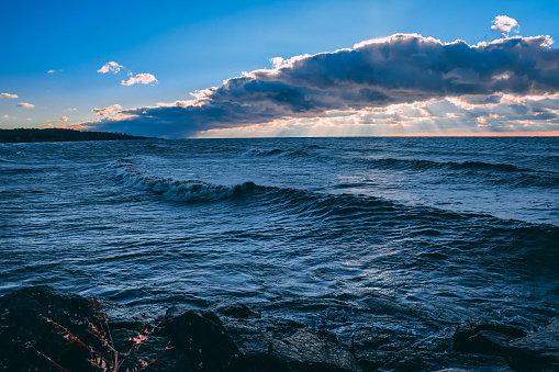 854222674 istock photo Stunning views of Lake Erie: Port Stanley Ontario Canada: 1047549710