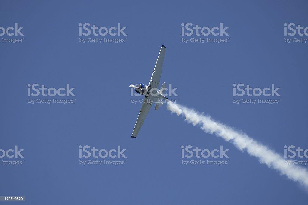 Stunt Pilots stock photo
