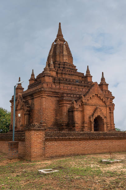 A Stupa in the valley of temples. Bagan - Burma - Myanmar - foto stock