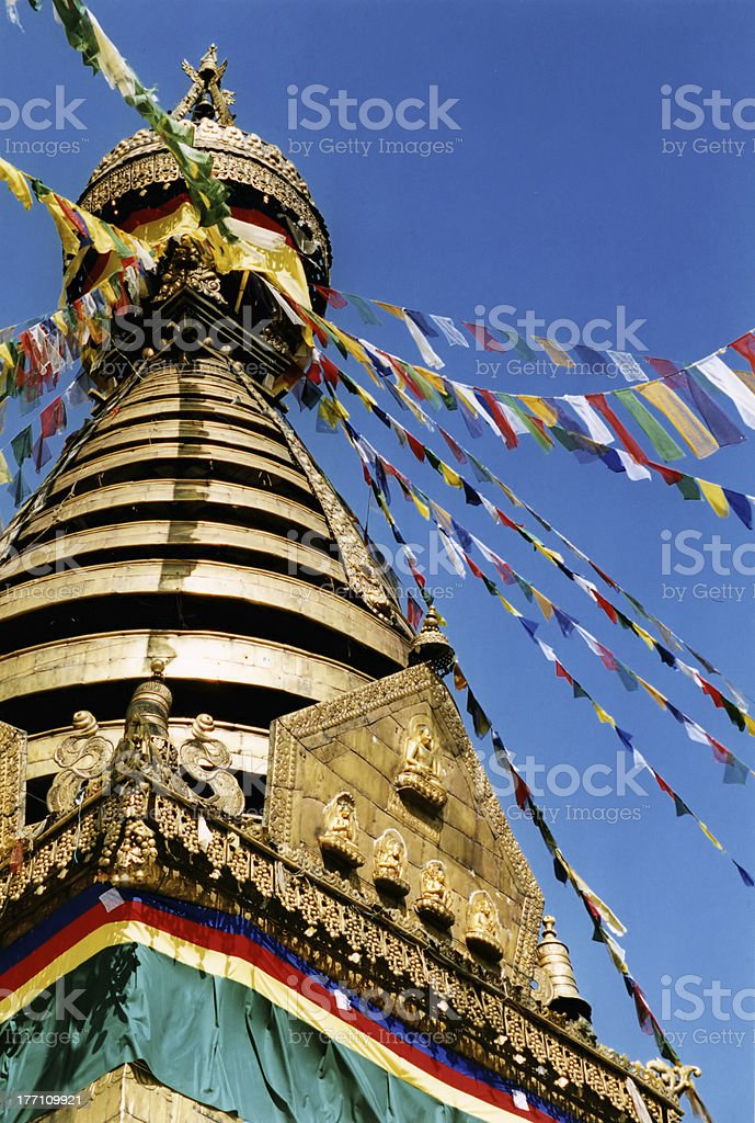Stupa Top royalty-free stock photo