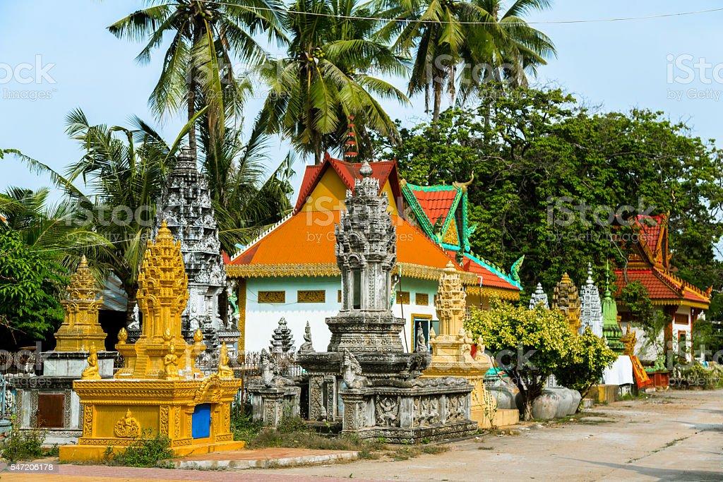 Stupas in Battambang – Foto