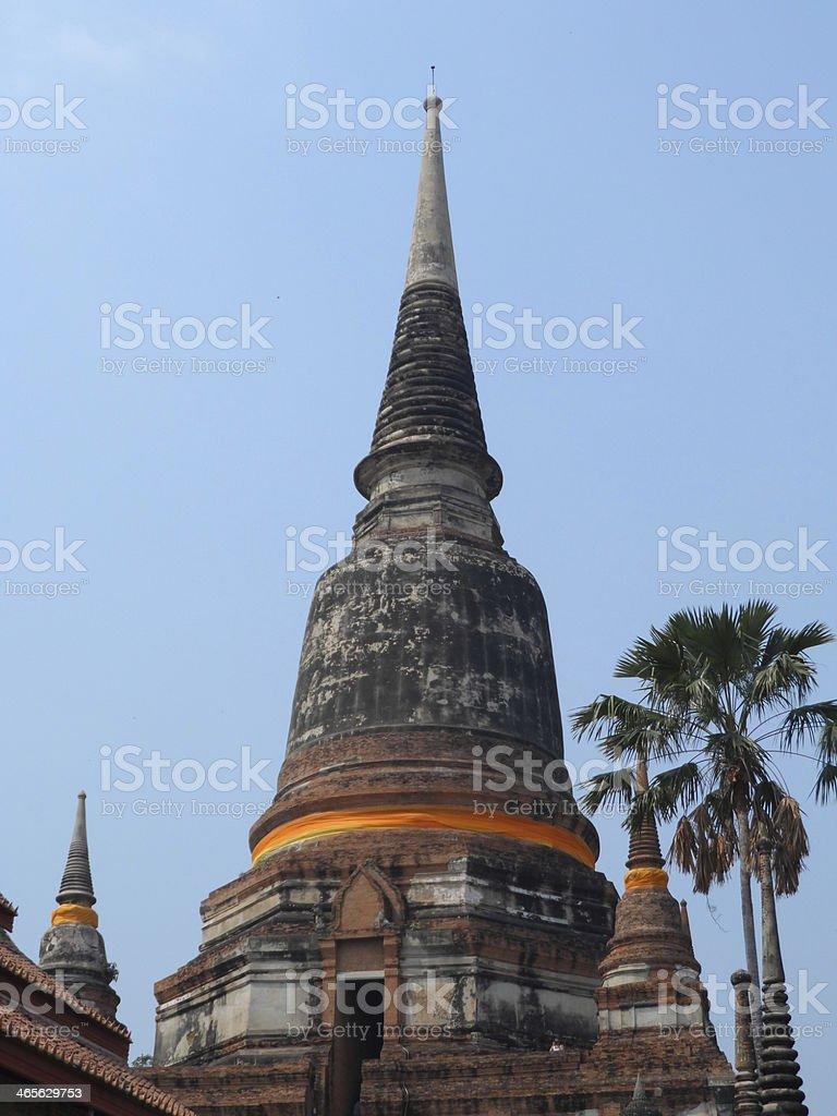 Stupas stock photo