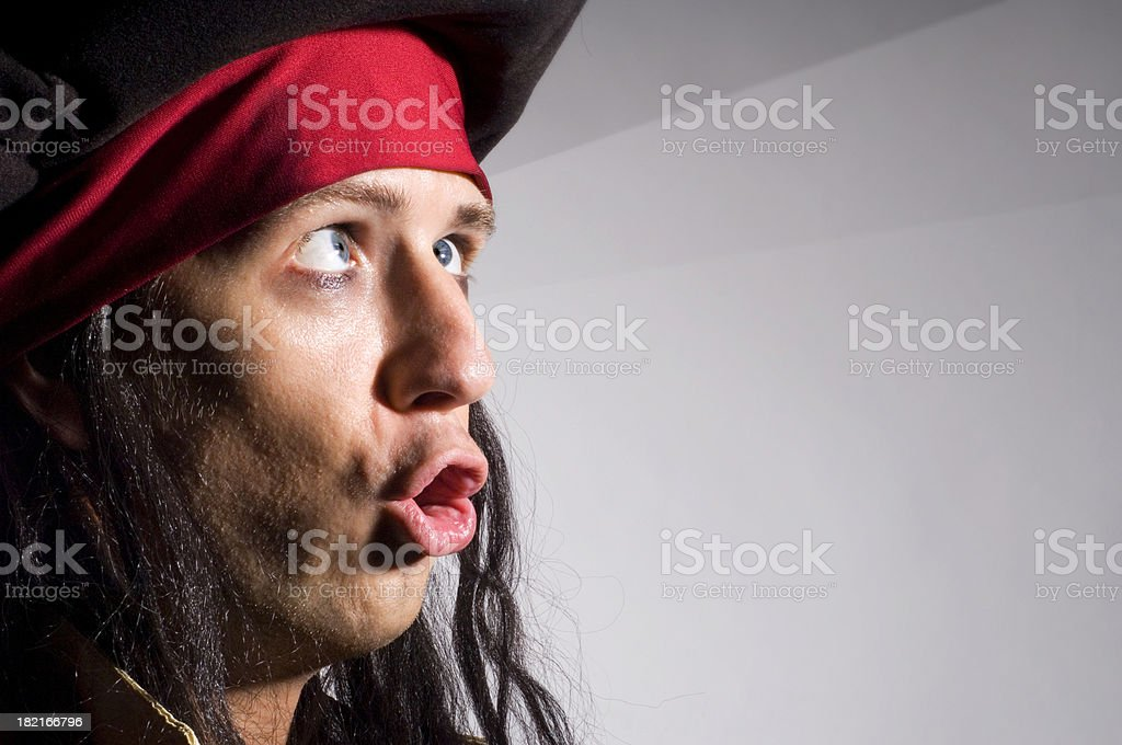 Stupid Pirate royalty-free stock photo