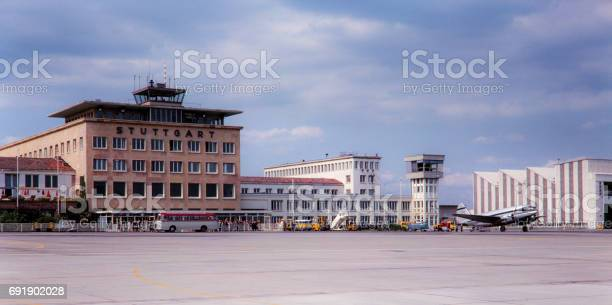 Stuttgart Airport 1965