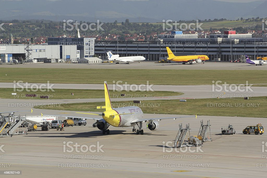 Stuttgart Airport royalty-free stock photo
