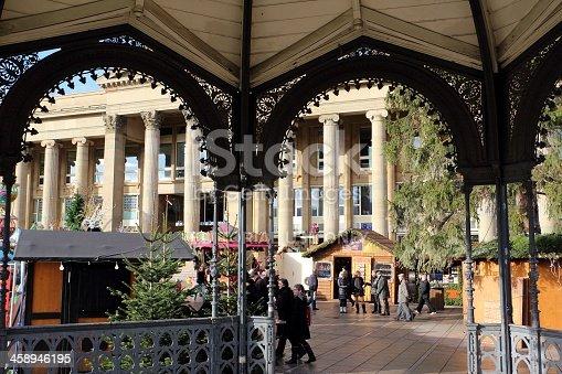 istock Stuttgart and christmas market 458946195