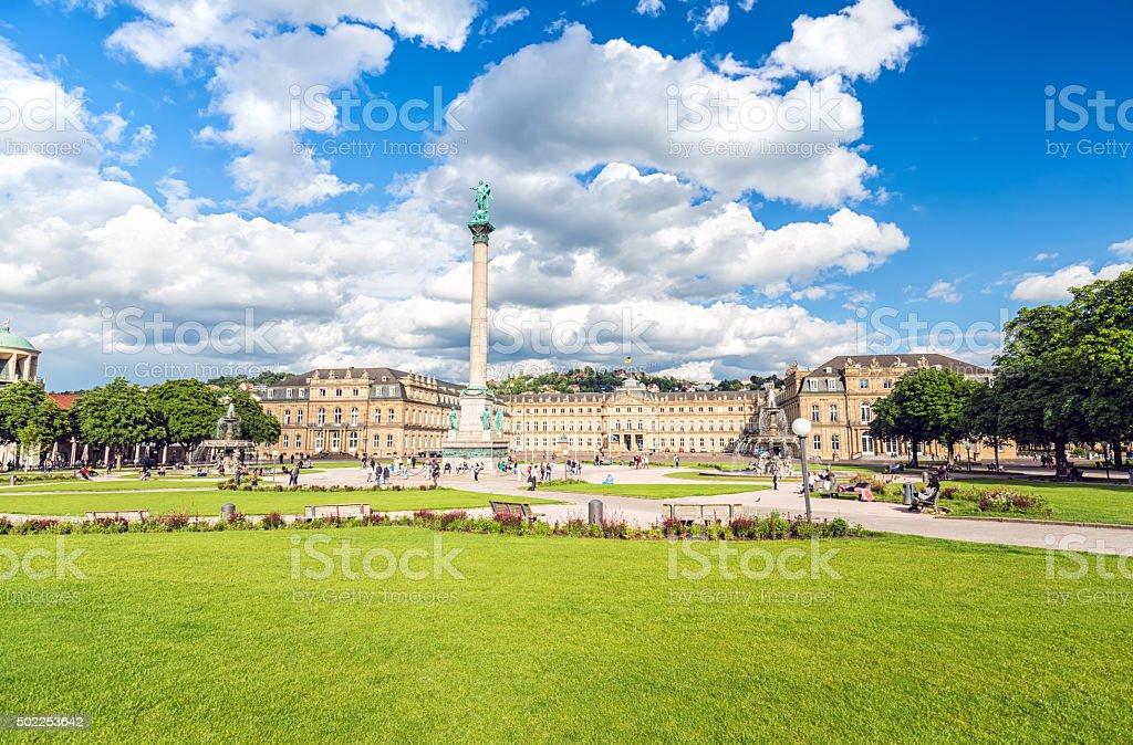 Stadtzentrum von Stuttgart – Foto
