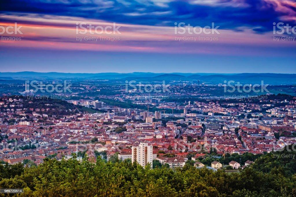 Stuttgart Dawn birkenkopf – Foto