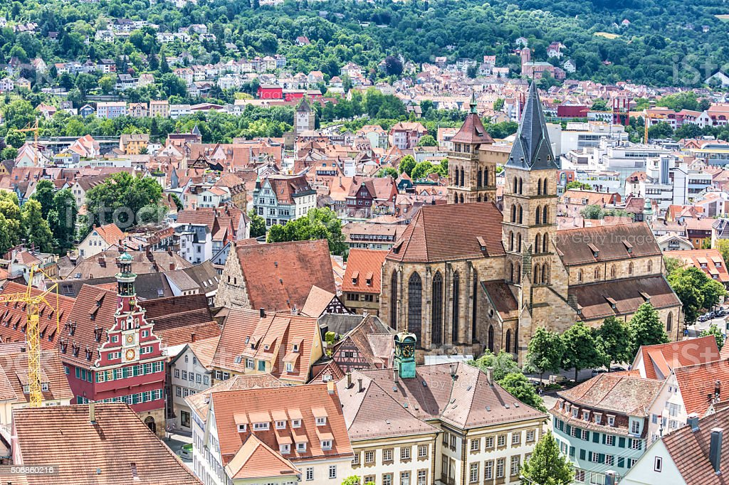 Stuttgart Esslingen stock photo
