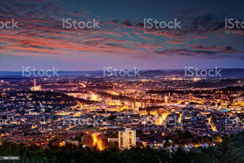 Stuttgart Abend birkenkopf – Foto