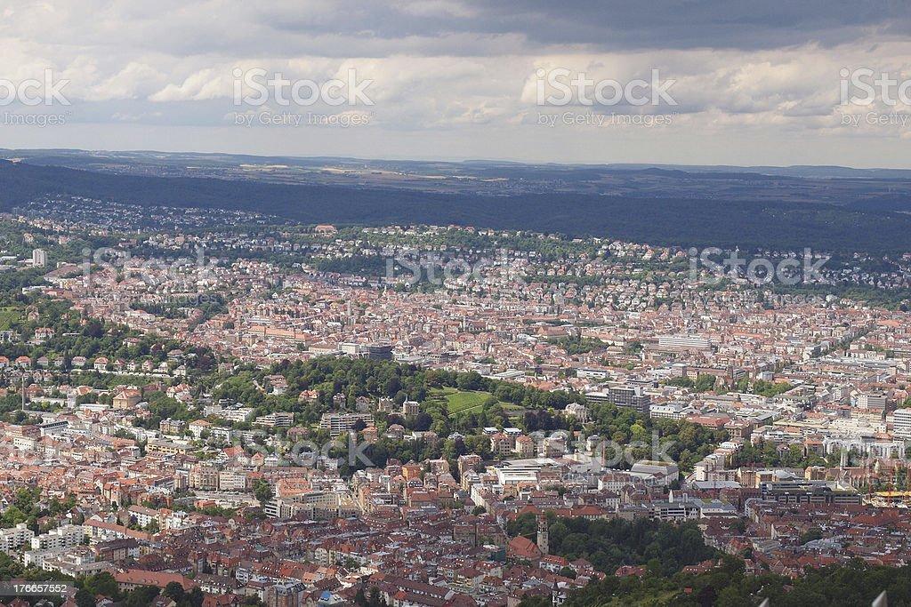 Stuttgart Alemania foto de stock libre de derechos