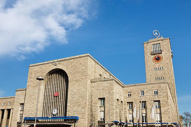 Stuttgart Hauptbahnhof (Central Station) stock photo