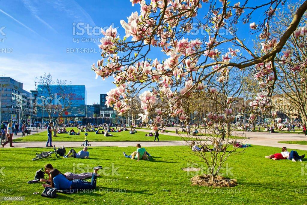 Stuttgart im Frühling – Foto