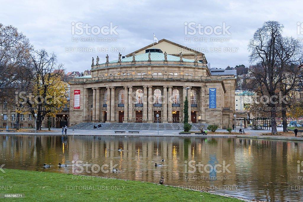 Stuttgart State Theater, Opera house. Germany - Baden-Württemberg royalty-free stock photo