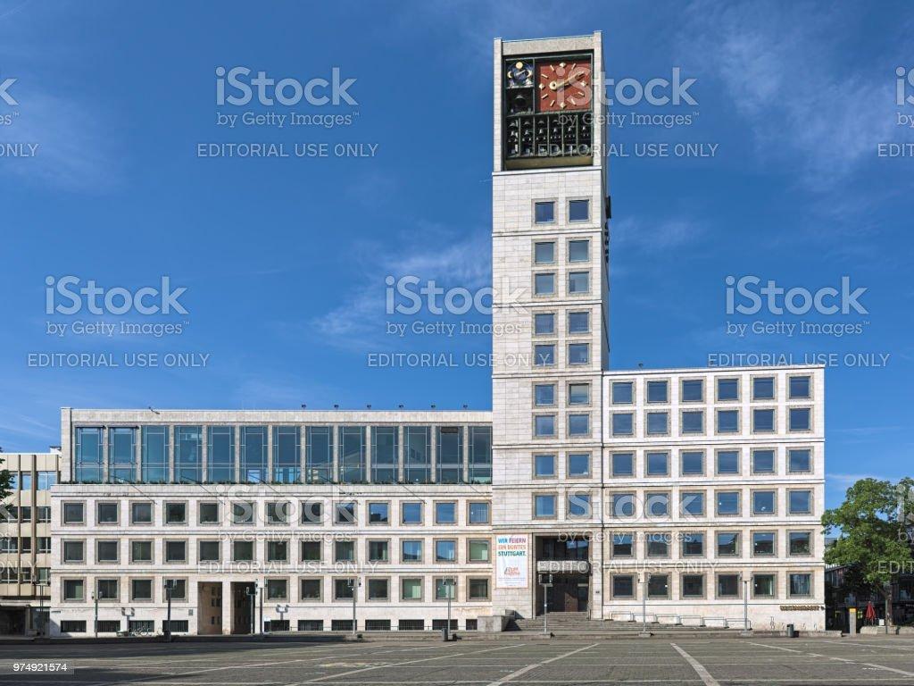 starke verpackung Geschäft vorbestellen Stuttgart Town Hall Germany Stock Photo & More Pictures of ...